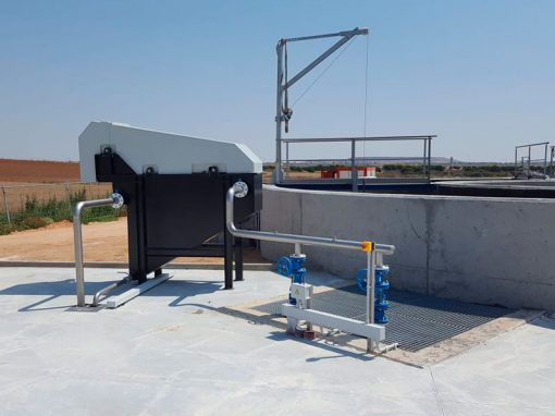 Trabajos depuración de aguas residuales – Morales de Toro