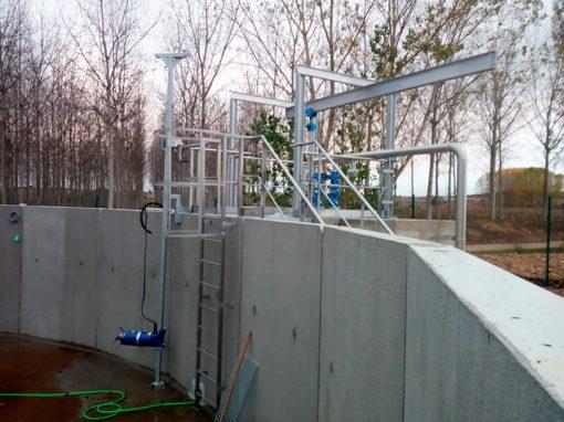 Trabajos depuración de aguas residuales – Villarejo