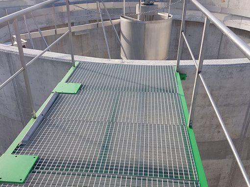 Trabajos depuración de aguas residuales – Lanzahita