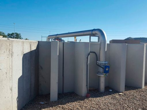 Trabajos depuración de aguas residuales – Cabezón de Pisuerga