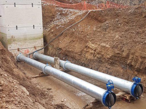 Trabajos de caldereria y conducción de agua – Quintanilla