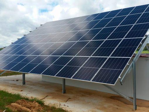Trabajos de planta solar para autoconsumo en Caleruega
