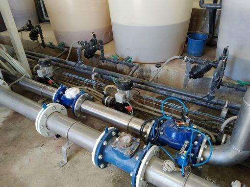 Proyecto de riego y filtración para invernaderos