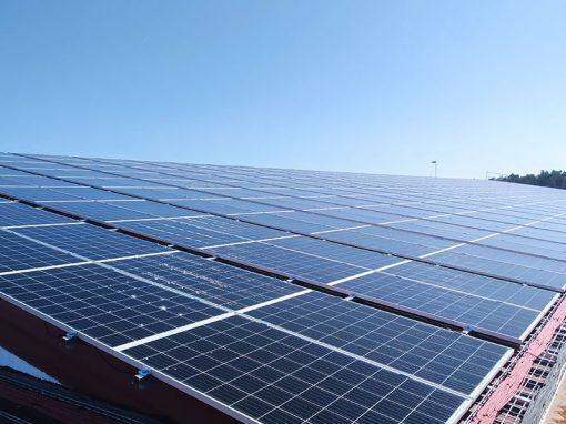 Instalación solar autoconsumo viveros campiñas