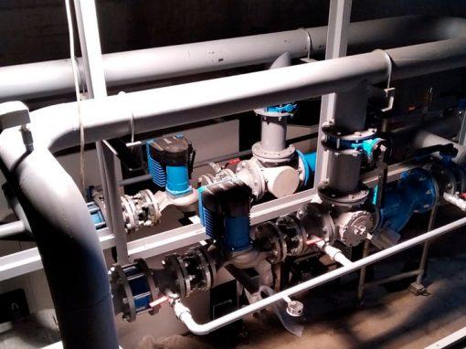 Trabajo calderería biomasa en Ávila